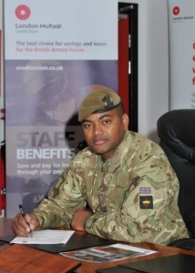 Johnson Beharry VC joining London Mutual Credit Union