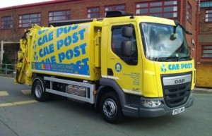 Cae Post lorry