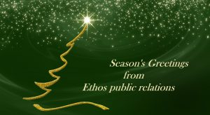 Season's Greetings from Ethos public relations