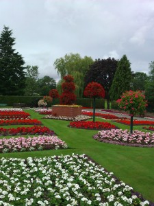 Cae Glas Park,   Oswestry, Shropshire
